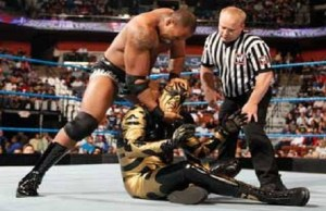 WWE Superstars Goldust vs Shad Gaspard