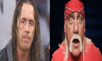 Bret Hart and Hulk Hoagn