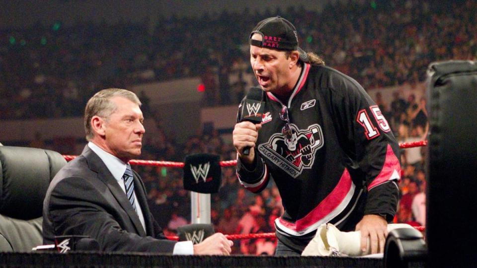 Bret Hart and Vince McMahon act