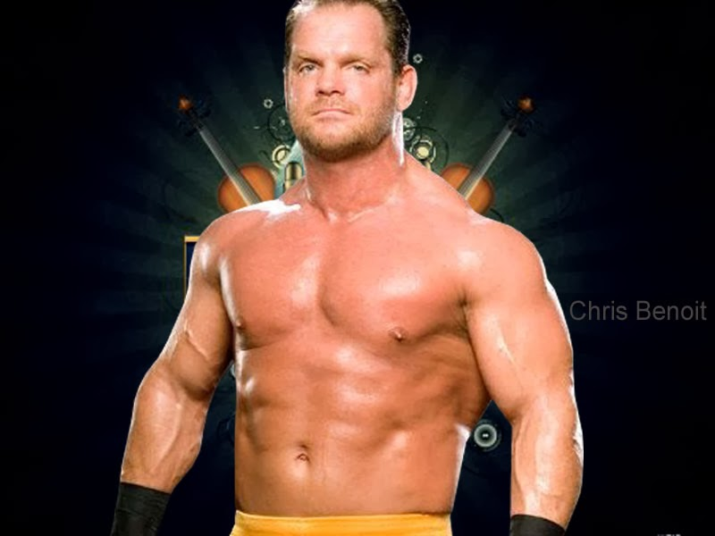 Chris Benoit face