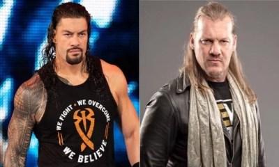 Chris Jericho and Roman Reigns WWE vs AEW