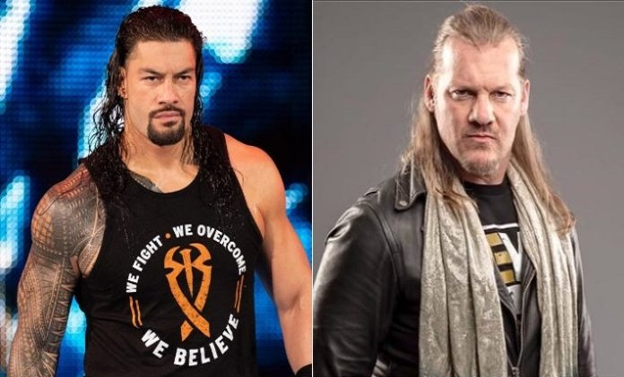 Chris Jericho and Roman Reigns WWE vs AEW