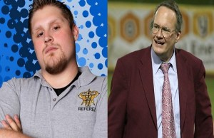Jim Cornette and Josh Ashcraft OVW staff