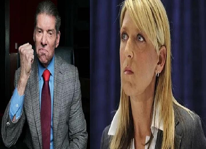 Martha Hart and Vince McMahon