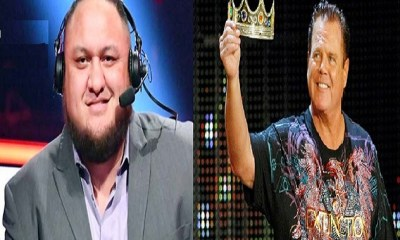 Samoa Joe and Jerry Lawler