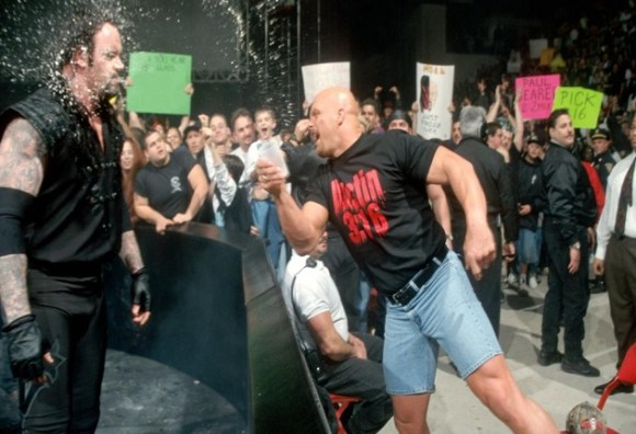 Stone Cold Steve Austin and The Undertaker