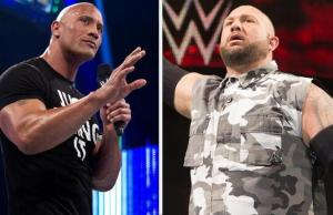 The Rock and Bubba Ray