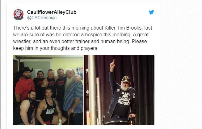 Tim Brooks tweet