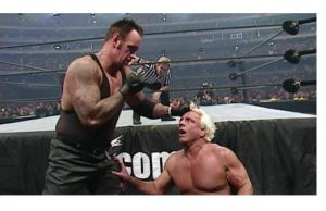Undertaker and Ric Flair