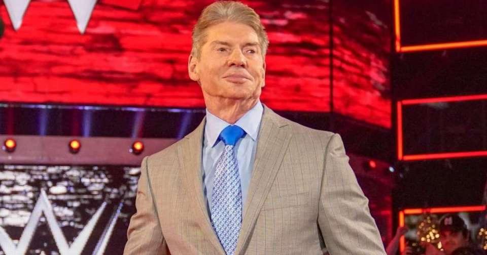 Vince McMahon smile