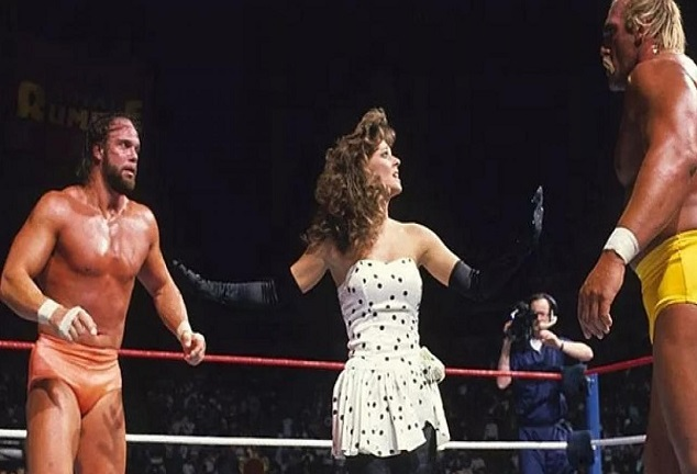 Hulk Hogan, Randy Savage and Miss Elizabeth