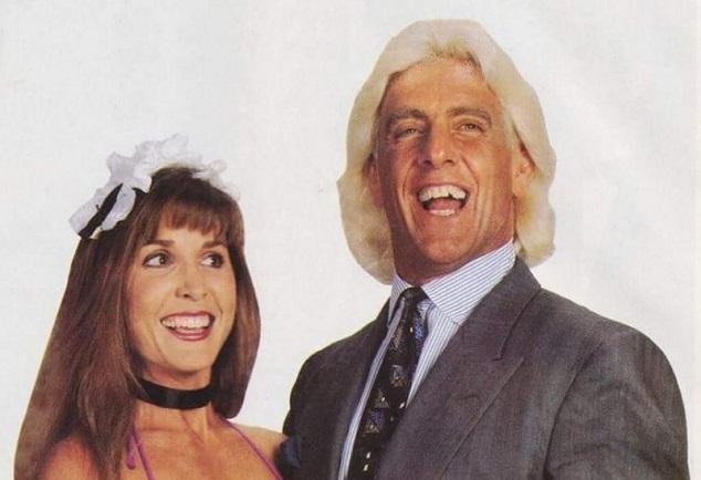 Ric Flair and Wendy Barlow
