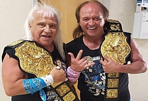 Ricky Morton and Robert Gibson