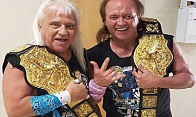 Ricky Morton and Robert Gibson