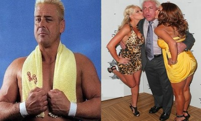 Ron Garvin and Ric Flair WWE legends
