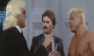 Ronnie Garvin Beat Ric Flair