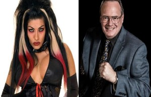 Shelly Martinez and Jim Cornette