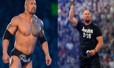 The Rock reveals Stone Cold Steve Austin at WrestleMania