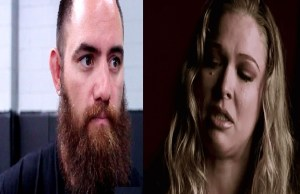Travis Browne and Ronda Rousey WWE