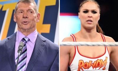 Vince McMahon talks Ronda Rousey