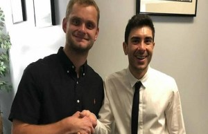 David Benoit Signing For AEW, David Benoit and Tony Khan
