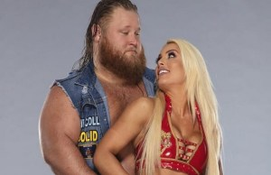 Mandy Rose and Otis