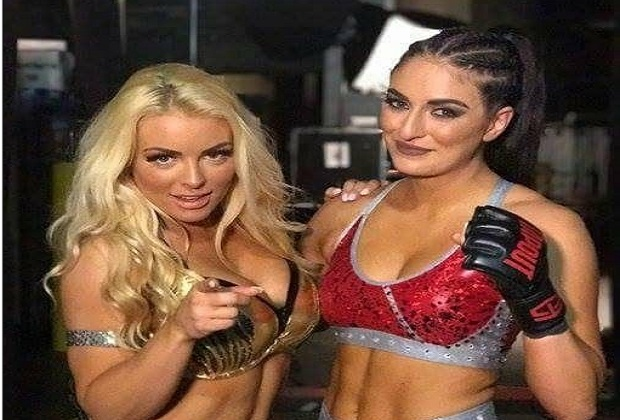 Mandy Rose and Sonya DeVille
