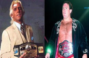 Ric Flair and Tully Blanchard NWA