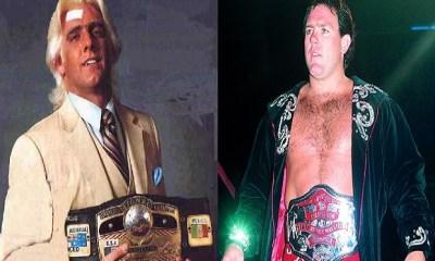 Ric Flair and Tully Blanchard NWA