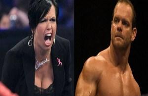 Vickie Guerrero and Chris Benoit