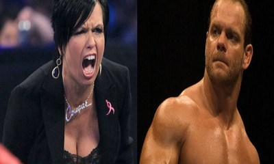 Vickie Guerrero and Chris Benoit
