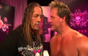Bret Hart and Chris Jericho
