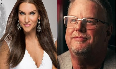 Stephanie McMahon and Bruce Prichard