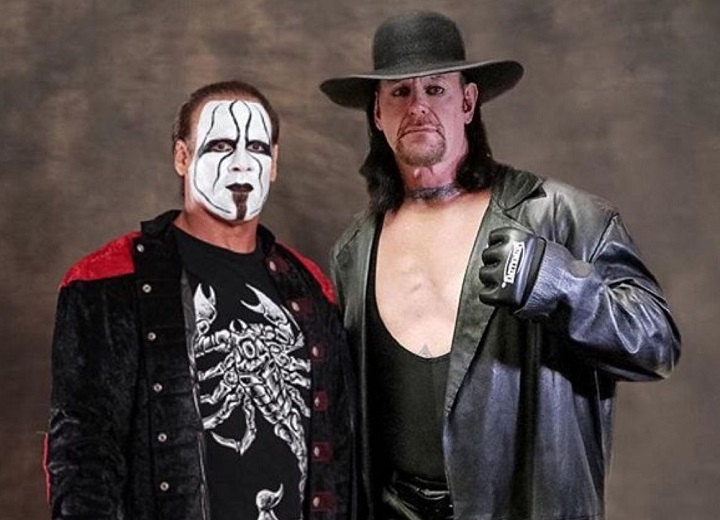 Sting and Undertaker Wwe legends