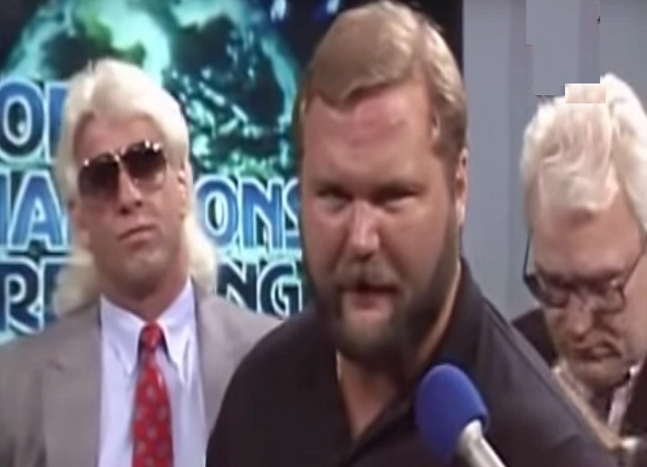 Arn Anderson Firing by WWE, Ric Flair