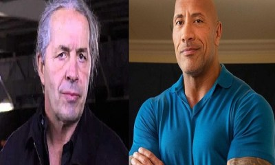 Bret Hart and The Rock