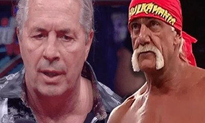 Bret Hart calls Hulk Hogan a hero