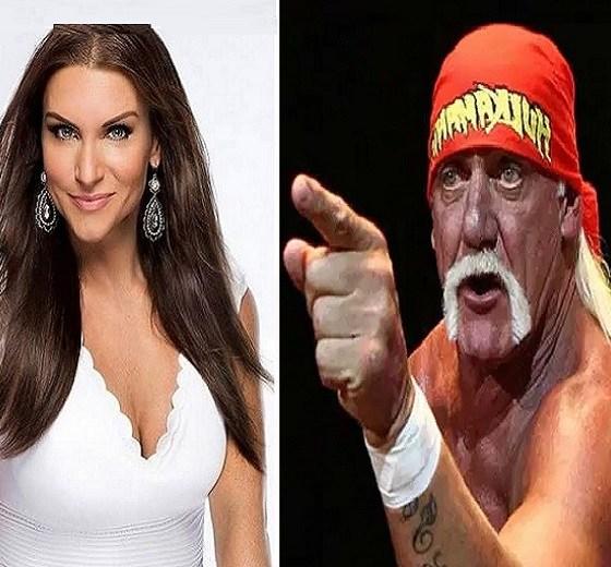 Stephanie McMahon Hulk Hogan