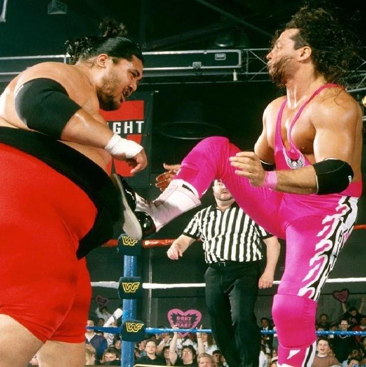 Bret Hart Vs Yokozuna Wrestlemania 10