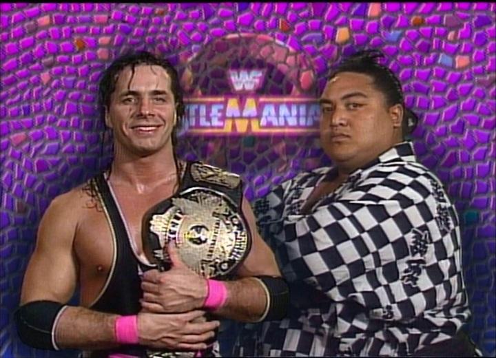 Bret Hart vs. Yokozuna Wrestlemania 9