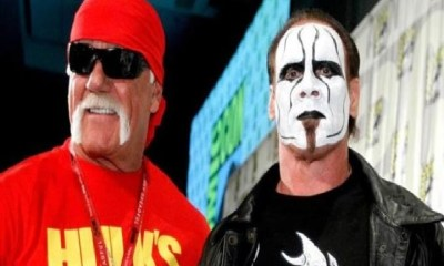 Sting and Hulk Hogan