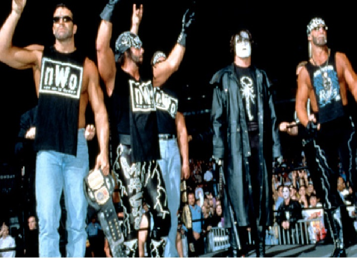 Sting vs The nWo WCW