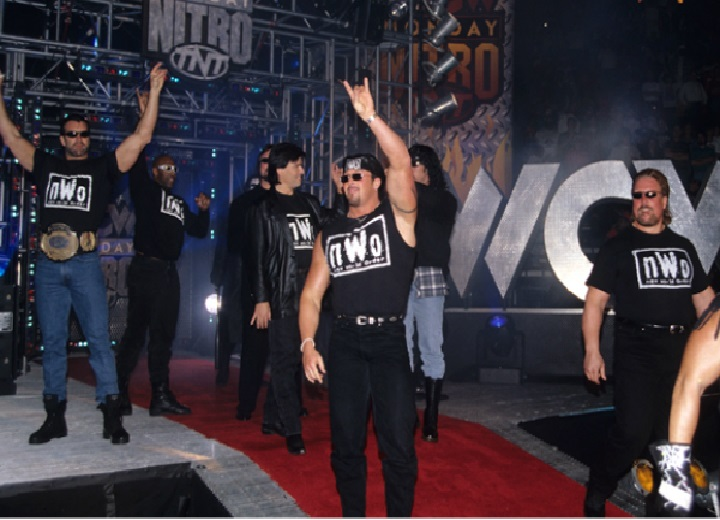 The Sting Vs nWo Storyline