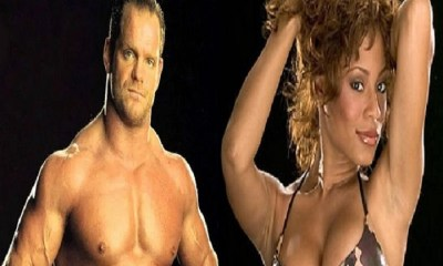 Kristal Marshall with Chris Benoit