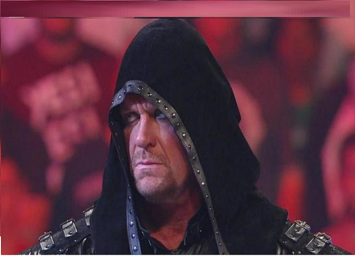 The undertaker angry