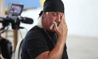 hulk hogan very sad
