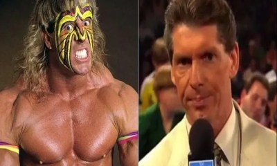 Ultimate warrior and vince Mcmahon