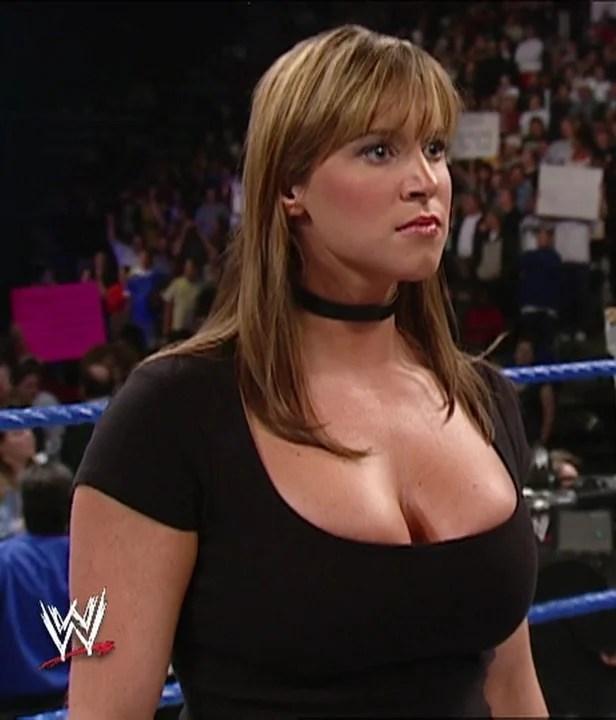 stephanie mcmahons boobs 1