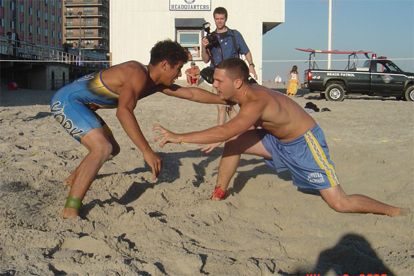 Mariacher brothers draw line in the sand