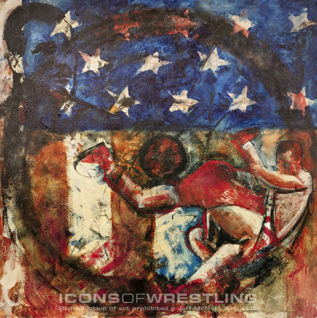 Icons of Wrestling Art Project